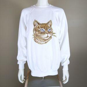 Homemade Cat Sweatshirt